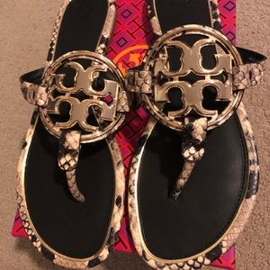 Brand new Tory Burch sandals, size 9, never worn